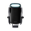 Baseus - Smartphone trådløs oplader & holder m. elektrisk lås