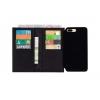 iPhone 7-8+ dobbelt pung etui af ægte læder