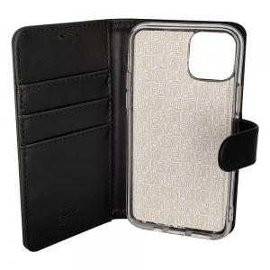 iPhone 11 - Etui sort m. kortplads og ståfunktion