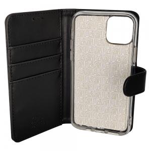 iPhone 11 Pro Max - Etui sort m. kortplads og ståfunktion