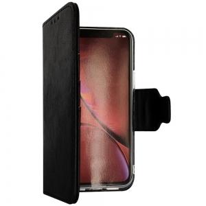 iPhone 12 Pro Max - Etui sort m. kortplads og ståfunktion