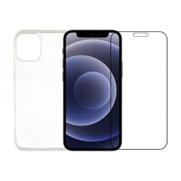 iPhone 12 pro cover og beskyttelsesglas